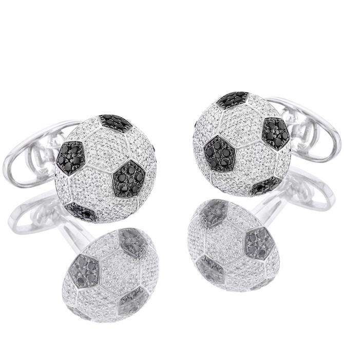 Oh My Got Diamond League soccer cufflinks