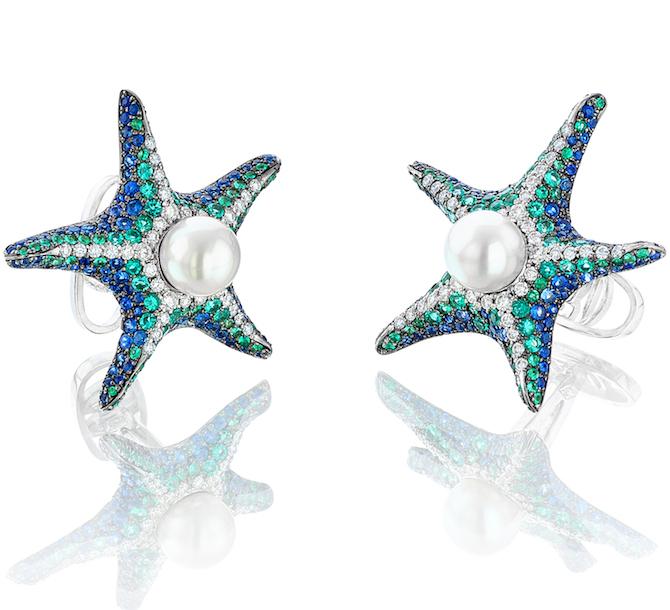 Oh My Got Pacific Sea Star cufflinks