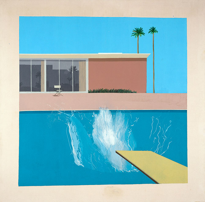 David Hockney Exhibit A Bigger Splash Hockney T03254 H Tate8x8
