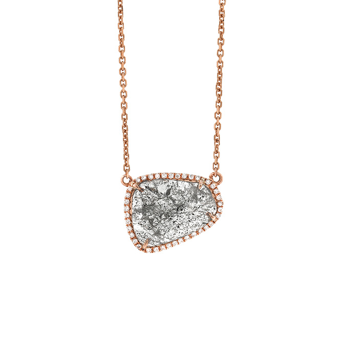 Dowry Diamond Slice necklace