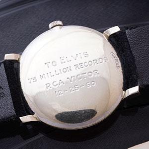 Elvis Presley Omega Watch Auction