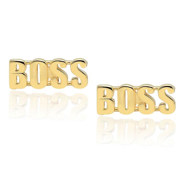 Established Boss Earrings