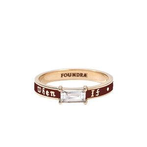 Foundrae If Not Now When Ring