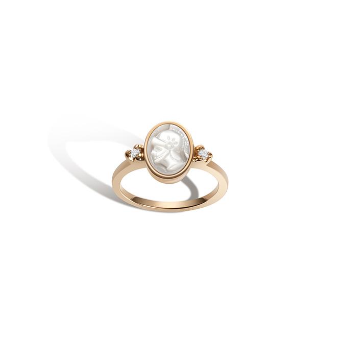 Gillian Steinhardt Intaglio No 5 Athena Ring