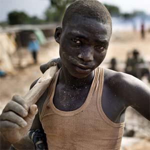 Human Rights Watch boy mining
