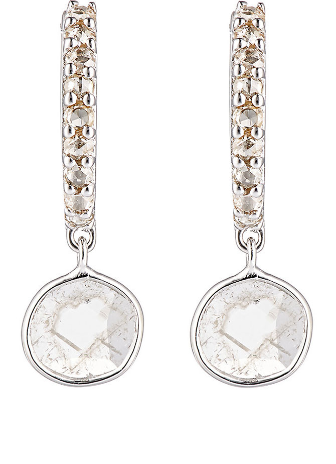 Ileana Makri diamond slice earrings