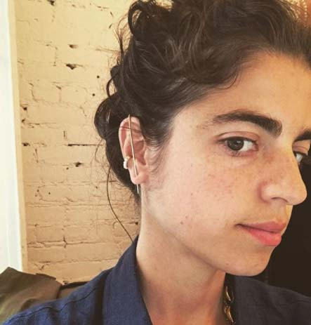 Leandra Cohen KatKim ear thread pin