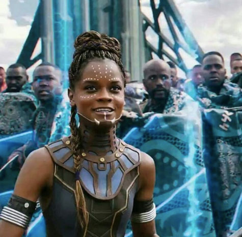 Letitia Wright Black Panther
