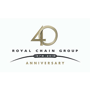 Royal Chain anniversary logo