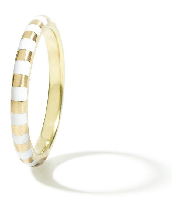 Marc Alary striped Siena bangle bracelet