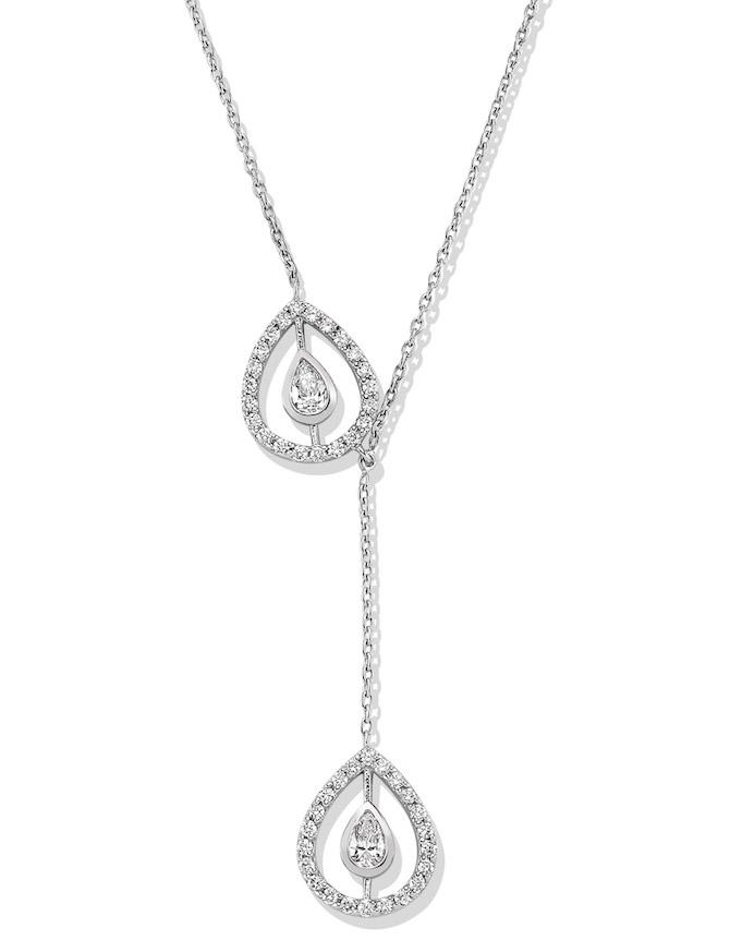 Melis Goral Paris diamond lariat