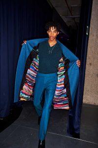 Paul Smith AW18 blue suit