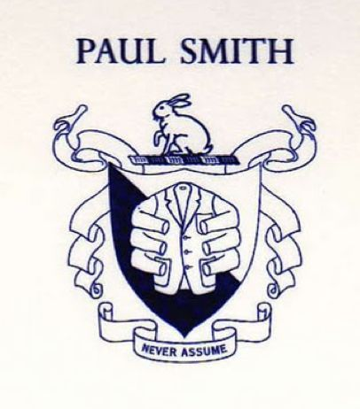 Paul Smith Crest via Pinterest