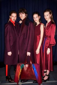 Paul Smith aw18 reds plums