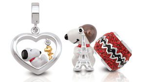 Peanuts Snoopy charms by Persona