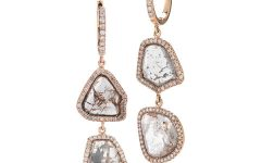 RIU Jewels Diamond Slice Earrings