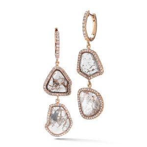 RIU Jewels Diamond Slice Earrings