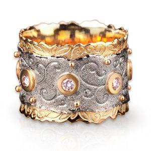 Margisa Meadow of Diamonds ring