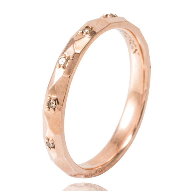 Nostalzia Stellaluna rose gold band