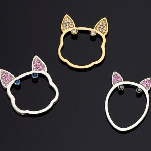 Anabela Chan Puppy collection rings
