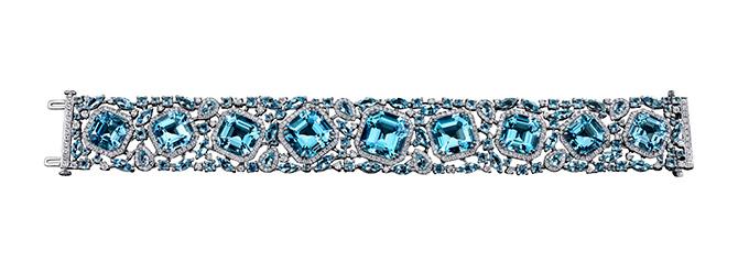 Robert Procop Aquamarine Parisian Bracelet