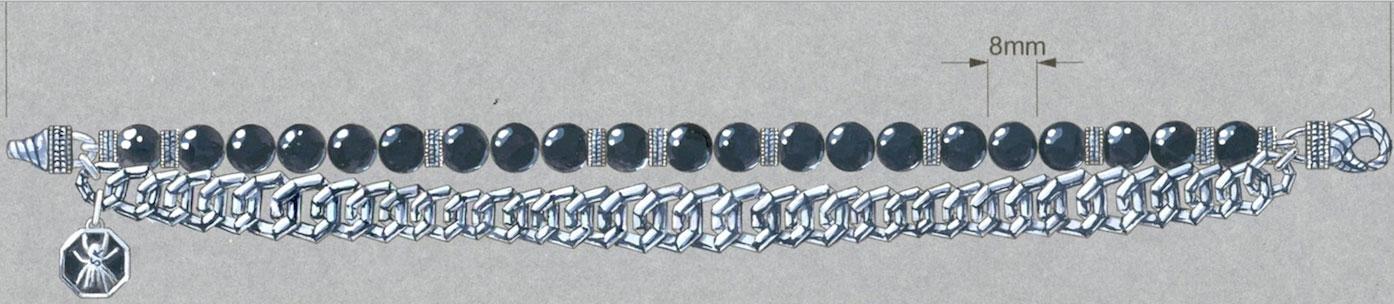 Scott Kay FIT award JungSoo Lee bracelet