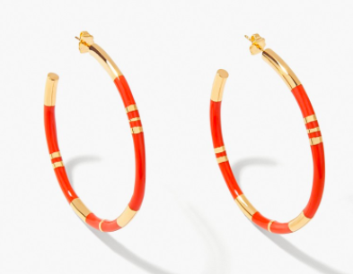 Aurelie Bidermann Positano earrings