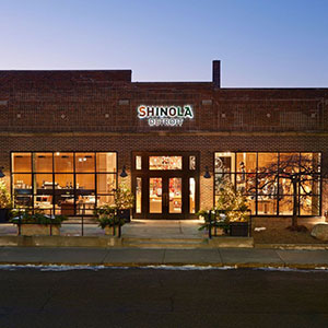 Shinola store in Detroit
