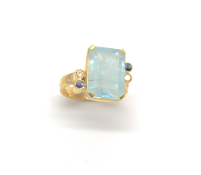 Sonia Tonkin Aquamarine Rings
