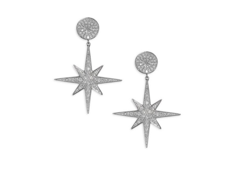 Sydney Evan Starburst Earrings