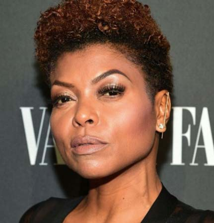 Taraji P. Henson KatKim ear thread pin