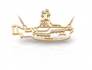 Yellow Submarine charm by Persona