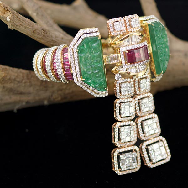 0137d4835 One of the most beautiful collections we saw at the India International  Jewellery Show (IIJS) 2018, held in Mumbai earlier this week, was by Anil  Bharwani, ...