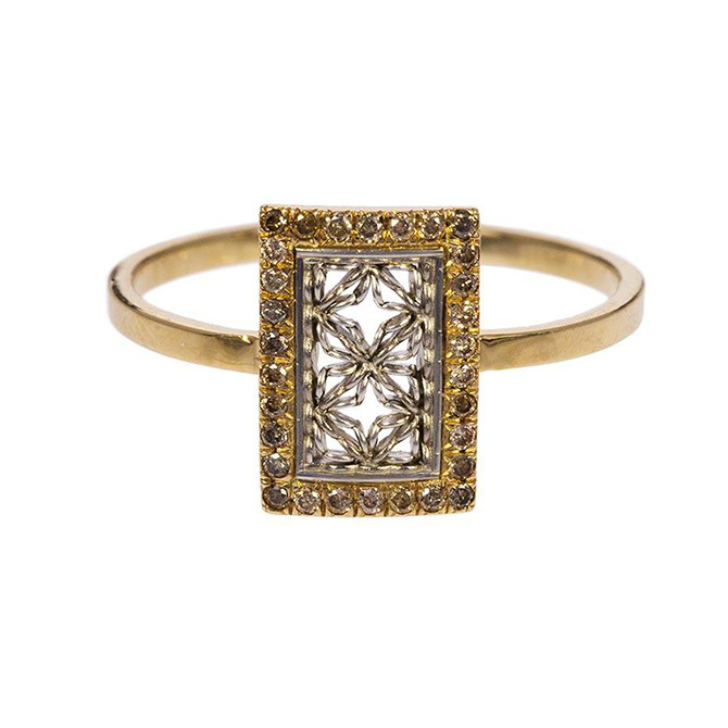 nikolle radi diamond damask ring