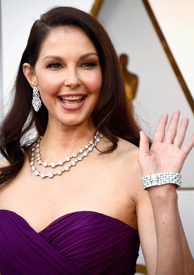 Ashley Judd at the Academy Awards