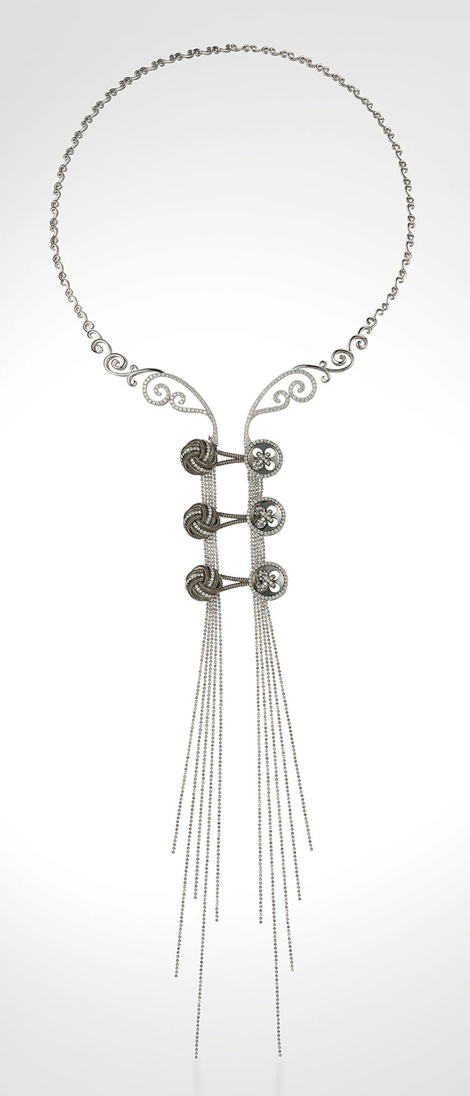 Au Kwok Man necklace