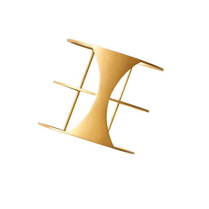 Auvere 22k gold Callista cuff