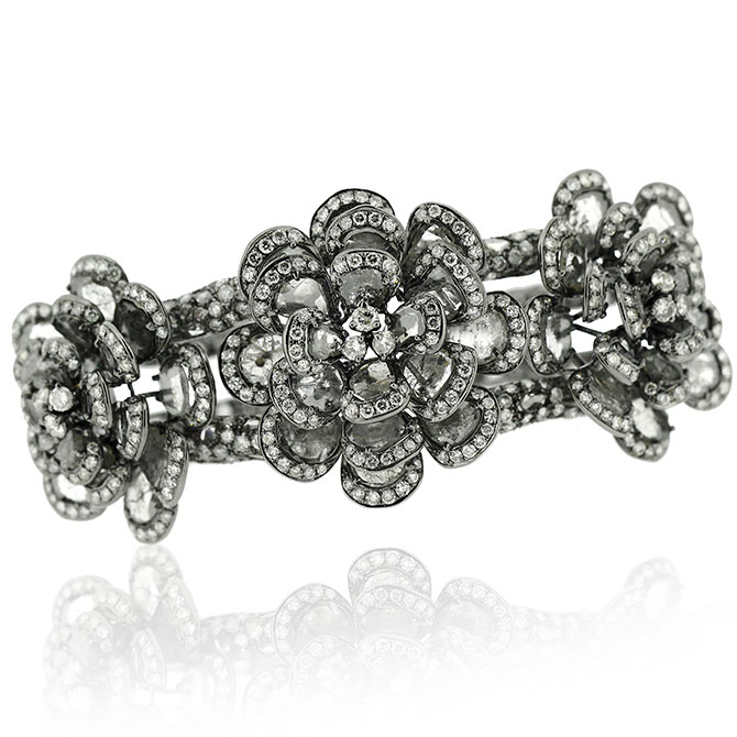 L'Dezen Violetta diamond bracelet