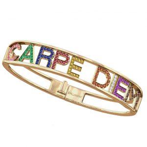 Spallanzani rainbow Carpe Diem bracelet
