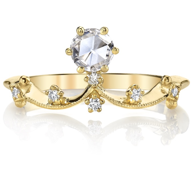 Parade Design Lumiere crown ring