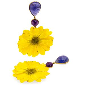 Bahina summer daisies earrings