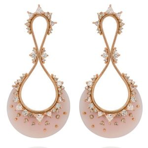 Fernando Jorge Fusion pink opal earrings