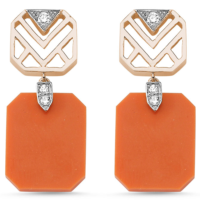 Melis Goral Geometria earrings