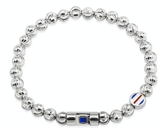 Officina Bernardi x Fred Segal beaded Moon bracelet