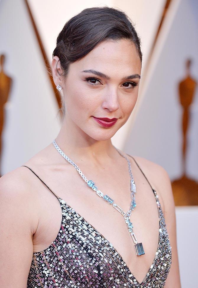 Gal Gadot at the Oscars