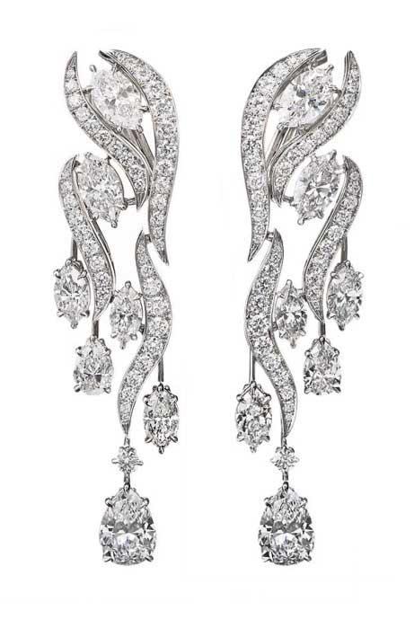 Harry WInston River earrings