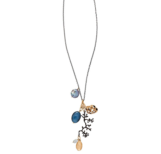 Julie Cohn Water Charm necklace