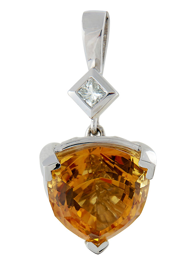 Master Jewelers JA CASE Award winner pendant