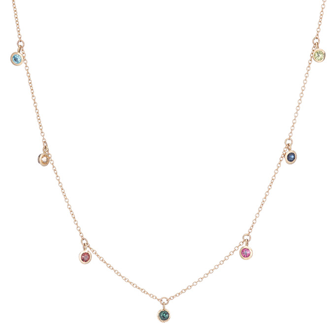 Ariel Gordon rainbow necklace
