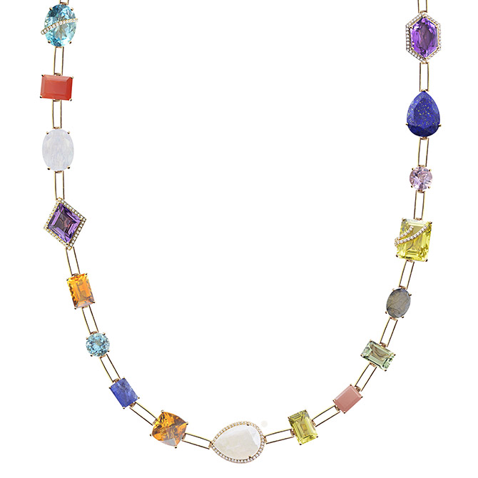 Arya Esha multicolor necklace